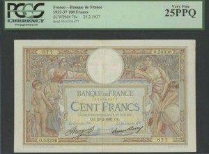 フランス紙幣