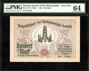 ダンチヒの紙幣