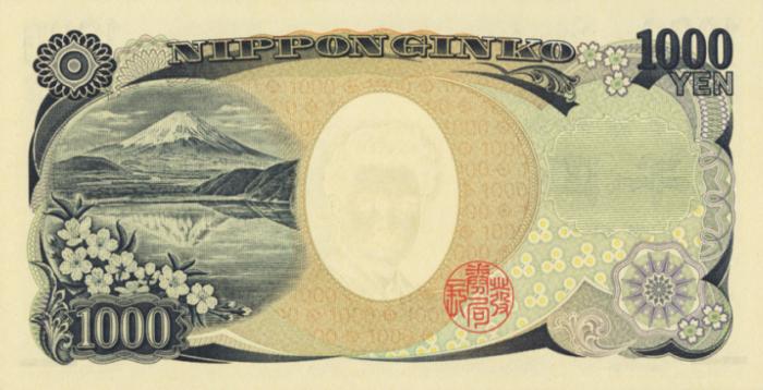 野口英世1000円札